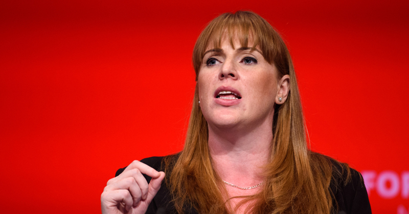 An invitation to Angela Rayner